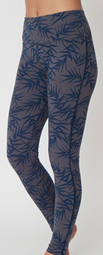 Asquith Flow With It Leggings (bamboo print/navy)