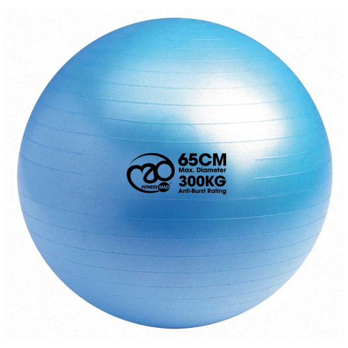 1e05c772d55 Træningsbold i blå + 1 pumpe + online øvelser