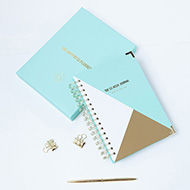 Happiness Planner (Mint/Gold)