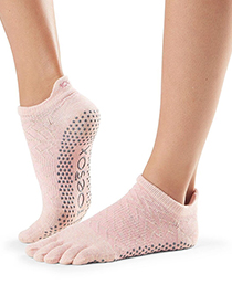 ToeSox Full Toe Lowrise Grip (Chill)