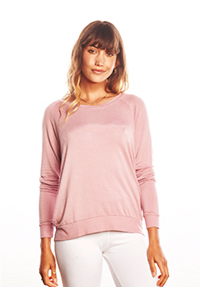 Be Love Blank Raglan Pullover (Cashmere Rose)