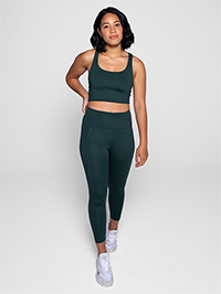 Girlfriend Collective Compressive High-Rise Legging Long (Moss)