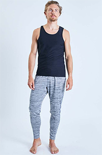 Ohmme Dharma Yoga Pants (Grey)
