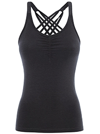 Mandala Infinity Top (Black)