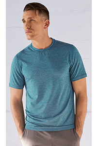 Manduka Cross Train Tee (Heather Maldive)
