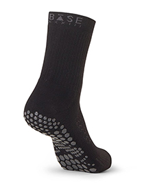 Base 33 Crew Grip Socks (Black)