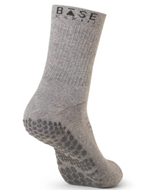 Base 33 Crew Grip Socks (Grey)