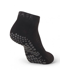 Base 33 Lowrise Grip Socks (Black)