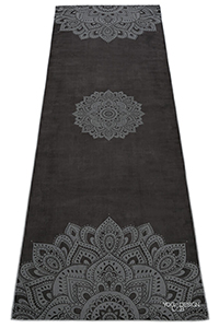 Hot Yoga Towel (Mandala Black)