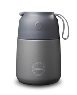 AYA&IDA Food'ie - 500 ML (Dark Grey)