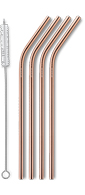 AYA&IDA Reusable Drinking Straw (Rose Gold)
