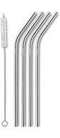AYA&IDA Reusable Drinking Straw (Silver)