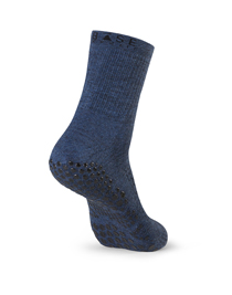 Base 33 Crew Grip Socks (Navy Blue)