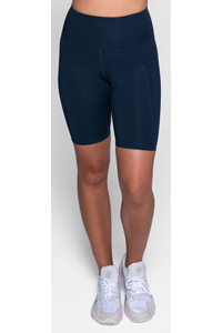 Girlfriend Collective High-Rise Bike Short (Midnight)