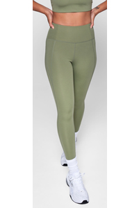 Girlfriend Collective Compressive High-Rise Legging Long (Olive)