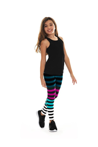 K-DEER Kids Leggings (Candice Stripe)