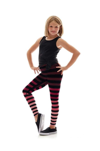 K-DEER Kids Leggings (Cathy Stripe)