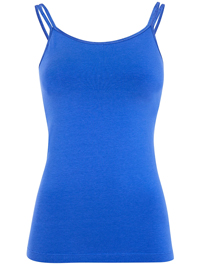Mandala Double Strap Top (Blue Screen)