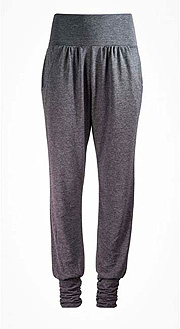 Asquith Long Harem Pants (Charcoal Marl)