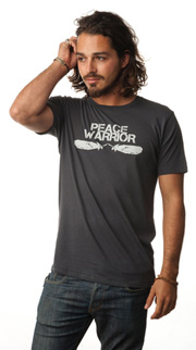 Peace Warrior Be Love T-Shirt (Thunder)
