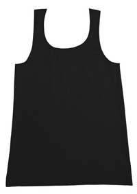 K-DEER Kids Tank Top (Solid Charcoal)