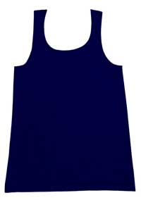 K-DEER Kids Tank Top (Solid Royal)