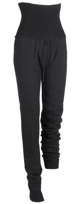 La Movenza Luisa Wool Pants (Black)