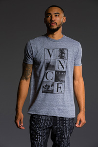 Onzie Graphic Tee (Venice Heather Gray)
