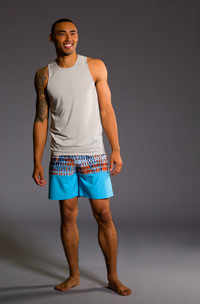 Onzie Muscle Tank (Wolf Grey Mesh)