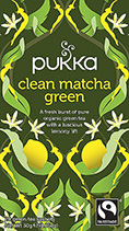 Green tea Clean Matcha Green - øko - Pukka te