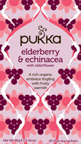 Elderberry and Echinacea - øko - Pukka te