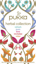 Herbal Collection tea sampak - øko - Pukka te