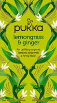 Lemongrass and ginger - øko - Pukka te