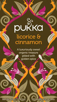 Licorice and cinnamon - øko - Pukka te