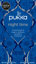 Night Time - øko - Pukka te