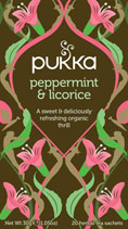 Peppermint and Licorice - øko - Pukka te