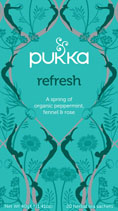 Mint refresh - øko - Pukka te