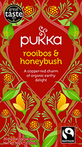 Rooibos and Honeybush - øko - Pukka te