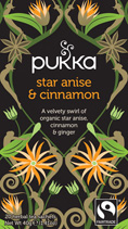 Star Anise and Cinnamon - øko - Pukka te
