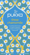 Three Chamomile tea - øko - Pukka te