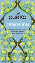 Three Fennel - øko - Pukka te