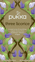 Three Licorice tea - øko - Pukka te