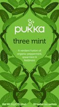 Three Mint - øko - Pukka te