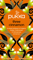 Three Cinnamon tea - øko - Pukka te