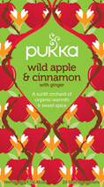 Wild Apple and Cinnamon tea - øko - Pukka te