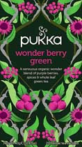 Wonder Berry Green tea - øko - Pukka te