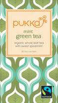 Green Mint - �ko - Pukka te