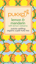 Lemon & Mandarin tea - �ko - Pukka te