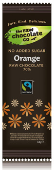 Dark Raw Chocolate with Orange