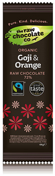 Goji Berry & Orange Raw Chocolate